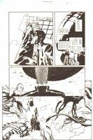 Establishment, The #9 p.18 - Christopher Truelove, Mister Pharmacist, Jon Drake, Scarlet, and Monsters - 'Walking Dead' Artist - 2002 Comic Art