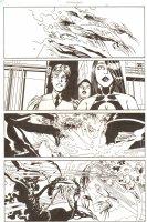 Establishment, The #9 p.19 - Scarlet, Equus, and Golden vs. Demons Action - 'Walking Dead' Artist - 2002 Comic Art
