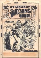 The Witching Hour #26 Cover - 'How to Win a Witch' - 1972  Comic Art