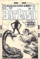 Bat Lash #5 Cover - Bat Lash vs. Sergio Aragones with Snake- 1969 Comic Art