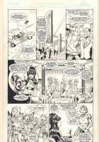 Elvira #? p.25 - Micronauts? App - Signed Comic Art