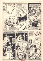 Conan the Barbarian #10 p.20 - Awesome God Bull of Anu Kill and Conan in Peril - 1971 Comic Art