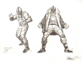 Bane Movie Commission Style Guide - Signed - 2011 Comic Art