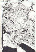 JLA: Classified #16 p.22 - Hypothetical Woman Splash - 2006 Comic Art