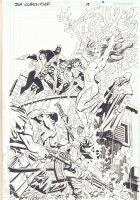 JLA: Classified #19 p.2 - The Hypotheticals Team 100% Splash - 2006 Comic Art