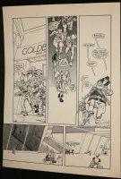 Cap'n Quick & a Foozle #? p.7 - LA - Eclipse Comics - Alien Chase - 1984 Comic Art