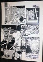Cap'n Quick & a Foozle #? p.10 - LA - Eclipse Comics - End Page - 1984 Comic Art