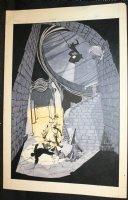Imagine #1 Alternate Unpublished Cover - B&W Watercolor - 1978 Comic Art