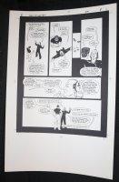 Demon With a Glass Hand Graphic Novel p.8 STAT - Harlan Ellison - 1986 Comic Art