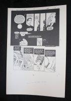 Demon With a Glass Hand Graphic Novel p.9 STAT - Harlan Ellison - 1986 Comic Art