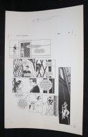 Demon With a Glass Hand Graphic Novel p.20 STAT - Harlan Ellison - 1986 Comic Art