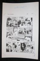 Demon With a Glass Hand Graphic Novel p.24 STAT - Harlan Ellison - 1986 Comic Art