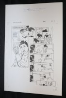 Demon With a Glass Hand Graphic Novel p.26 STAT - Harlan Ellison - 1986 Comic Art