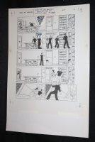 Demon With a Glass Hand Graphic Novel p.31 STAT - Harlan Ellison - 1986 Comic Art
