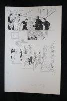 Demon With a Glass Hand Graphic Novel p.40 STAT - Harlan Ellison - 1986 Comic Art
