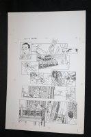Demon With a Glass Hand Graphic Novel p.41 STAT - Harlan Ellison - 1986 Comic Art