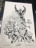Inhumans Commission - 2005 Signed by Stan Lee! Comic Art