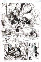 Amazing Spider-Man #18 p.9 - Spidey vs. Ghost Action - 2015 Comic Art