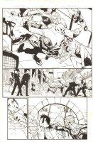 Superior Spider-Man #16 p.12 - Spidey (Otto Octavius) Action - 2013 Signed Comic Art