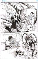 Superior Spider-Man #24 p.3 - Superior Venom - 2014 Signed Comic Art