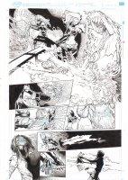 Extraordinary X-Men #2 p.3 - Chimera, Colossus, & Magik Action - 2016 Comic Art
