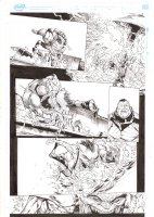Extraordinary X-Men #8 p.11 - Sugar Man vs. Sentinel - 2016 Comic Art