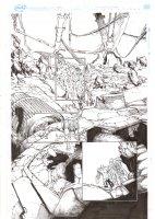 Extraordinary X-Men #10 p.10 - Cerebra Sentinel, Anole, & Glob Herman - 2016 Comic Art