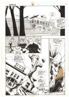 Impulse #13 p.9 - Breaking into a Mansion - 1996 Comic Art