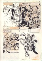 Extraordinary X-Men #4 p.17 - Great Storm Action - 2016 Comic Art