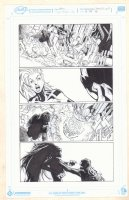 Extraordinary X-Men #11 p.19 - Storm Choked - 2016 Comic Art