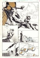 Fairy Quest #2 p.23 - Red Riding Hood and Big Bad Wolf Splash - 2014 Comic Art