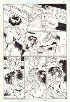 Fairy Quest #2 p.44 - Red Riding Hood and Big Bad Wolf Action - 2014 Comic Art