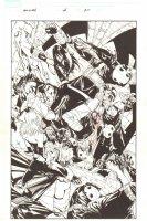 New X-Men #44 p.20 - Crazy Action 100% Splash - 2008