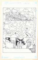 Fairy Quest #2 p.34 - Red Riding Hood & Big Bad Wolf - Great Fantasy Map - 2014 Comic Art