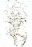 Green Lantern Corps #51 White Lantern Variant Cover - Reverse-Flash Professor Zoom - 2010 Signed