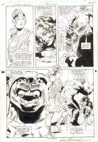 Wonder Woman Annual #4 p.39 - Artemis, Cheetah, and Wonder Woman - 1995 Signed Comic Art