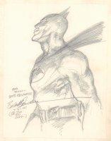 Batman Pencil Commission - 1993 Signed Comic Art