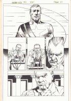 Kurt Busiek's Astro City #7 p.21 - Samaritan - 1997 Comic Art