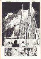 Kurt Busiek's Astro City #9 p.15 - Massive Cathedral Splash - 1997 Comic Art