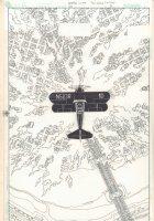 Kurt Busiek's Astro City #20 p.3 - Airplane Splash - 2000 Comic Art