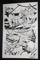 He-Man and the Masters of the Universe #? p.3 - Temple - 2013 Signed  Comic Art