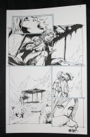 He-Man and the Masters of the Universe #? p.4 - Having a Drink in the Mountains - 2013 Signed  Comic Art