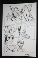 He-Man and the Masters of the Universe #? p.5 - Swift Wind - 2013 Signed  Comic Art