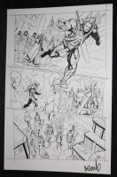 He-Man and the Masters of the Universe #? p.6 - He-Man Running - 2013 Signed  Comic Art