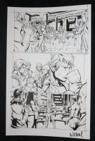 He-Man and the Masters of the Universe #? p.7 - He-Man Drinks from Chalice - 2013 Signed  Comic Art