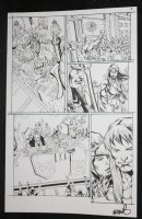 He-Man and the Masters of the Universe #? p.8 - He-Man Gives Toast at Feast - 2013 Signed  Comic Art