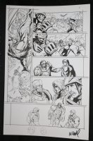 He-Man and the Masters of the Universe #? p.8 - Battle Scene - 2013 Signed  Comic Art