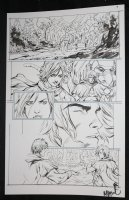 He-Man and the Masters of the Universe #? p.9 - He-Man with Babe - 2013 Signed  Comic Art