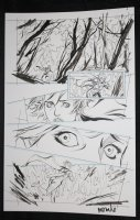 He-Man and the Masters of the Universe #? p.9 - Babe Running Through the Woods - 2013 Signed  Comic Art