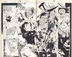 The Tenth #4 pgs. 4 & 5 DPS - Esperanza Del Toro, Zorina, Kirai, and Blackspell - 1997  Comic Art